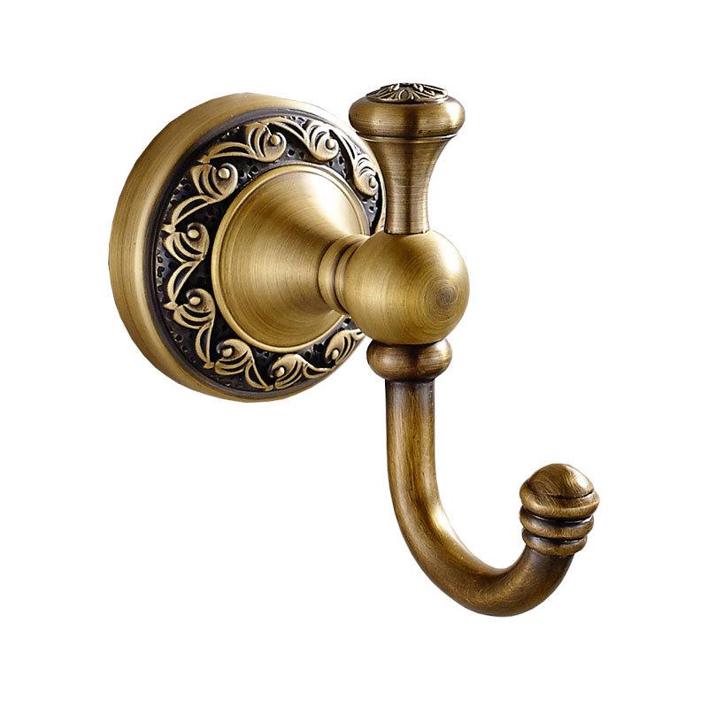 Antique Brass Coat Hook Clothes Towel Hangers Storage Door Hook Robe Hooks Wall Bathroom Acc In 2020 Towel Hooks Bronze Bathroom Accessories Brass Bathroom Accessories