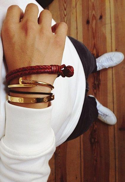 Bracelets   Männer accessoires
