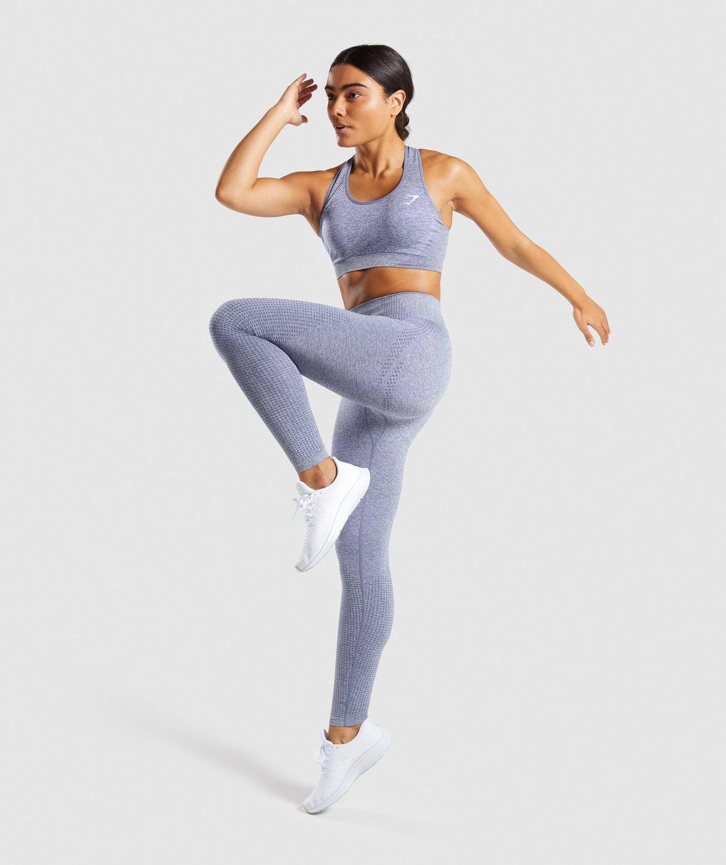 d8d0c18f6cab3 Gymshark Vital Seamless Leggings - Steel Blue Marl 4 I love the leggings!  Either the steel blue merel or black! Medium!