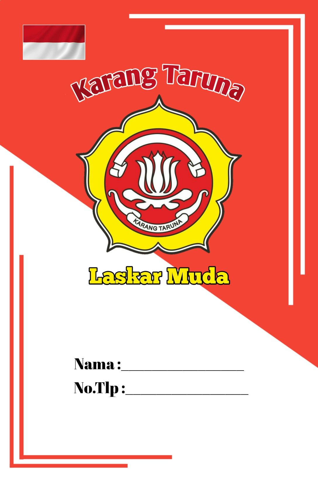 Karang Taruna Logo Png : karang, taruna, Karang, Taruna, Minimalis