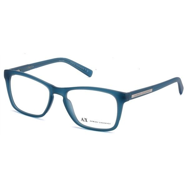 bc923f48a610 Armani Exchange AX 3012 8084 Matte Ocean Teal Eyeglasses ( 85) ❤ liked on  Polyvore