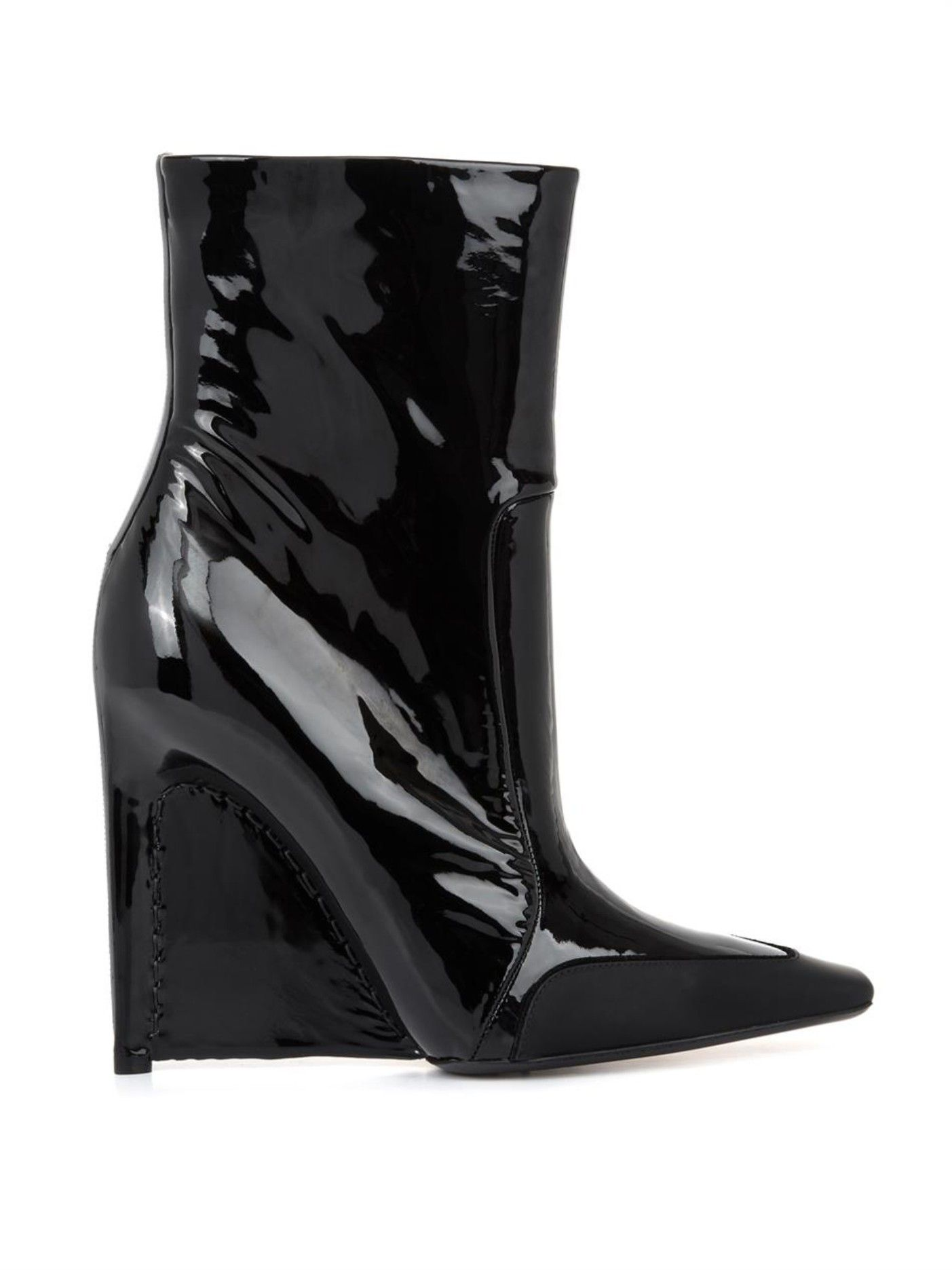 sale Inexpensive release dates cheap price Balenciaga Patent Leather Wedges XfdWdcuM0