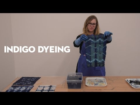 Indigo Dyeing Tutorial