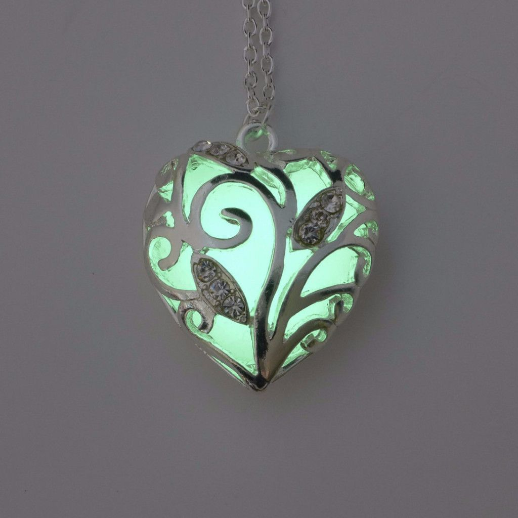 Radiant Heart Necklaces