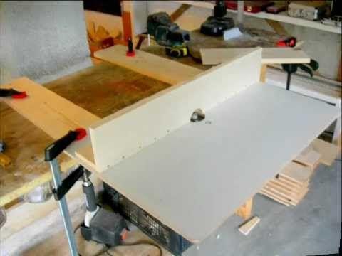 Tavolo Fresa ~ Falegnameria costruire un banco fresa ww router table