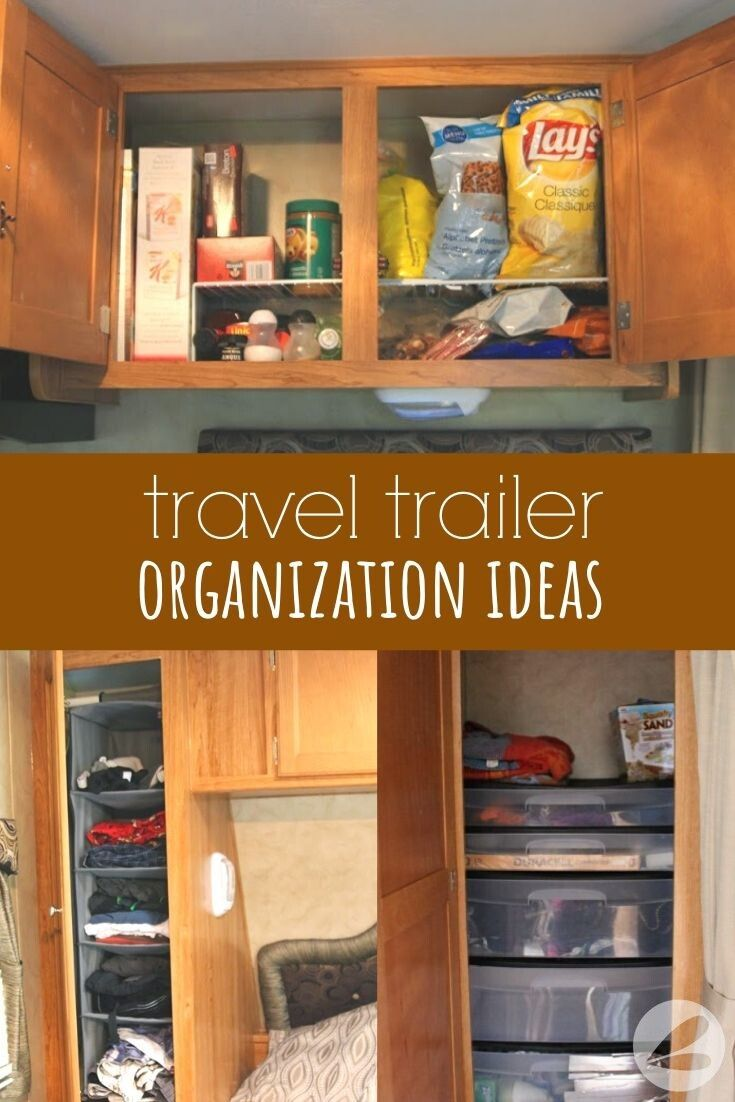 Travel Trailer Organization Ideas » Homemade Heather