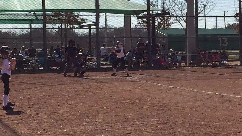 Elizabeths home run texas travelers softball with