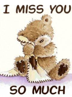 I Miss You Mobile Wallpaper I Miss You Teddy Bear Quotes Miss You