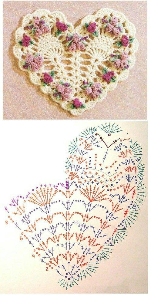 Pin de Carito en patrones   Pinterest   Ganchillo, Carpeta y ...