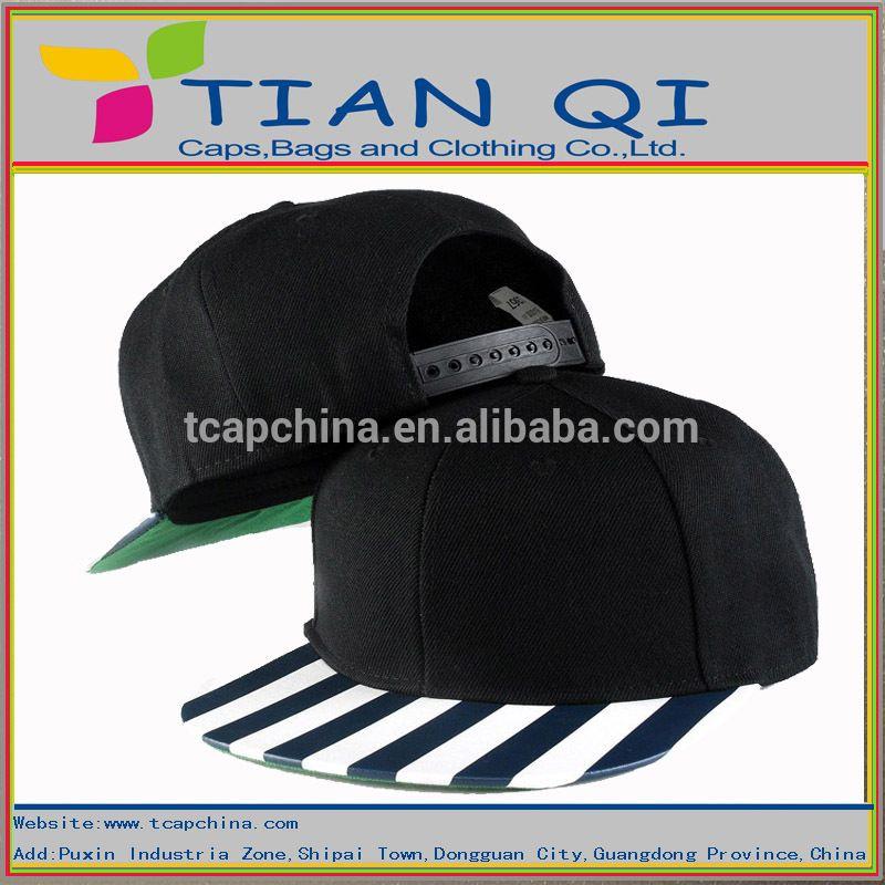 9c9f197876956 fashionable blank black caps 100% cotton high quality wholesale custom  snapback caps