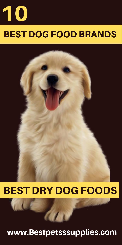 10 Best Dog Food Brands Best Dog Food Brands Best Dry Dog Food Dog Food Brands