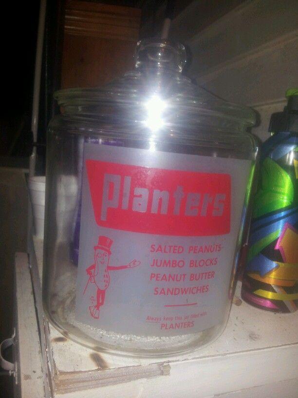 planters cookie jar