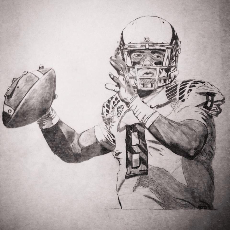 josh huff drawing oregon ducks football goducks oregonducks
