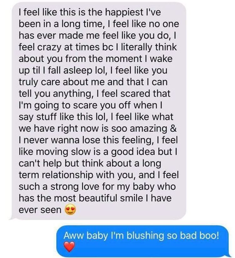 Long paragraphs to girlfriend cute to say your 100+ Sweet