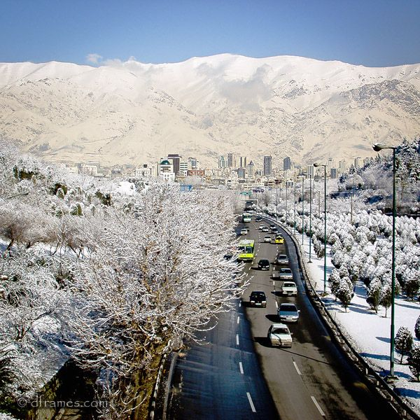 tehran snowey winter in tehran winter in tehran iran places to visit pinterest reisen. Black Bedroom Furniture Sets. Home Design Ideas