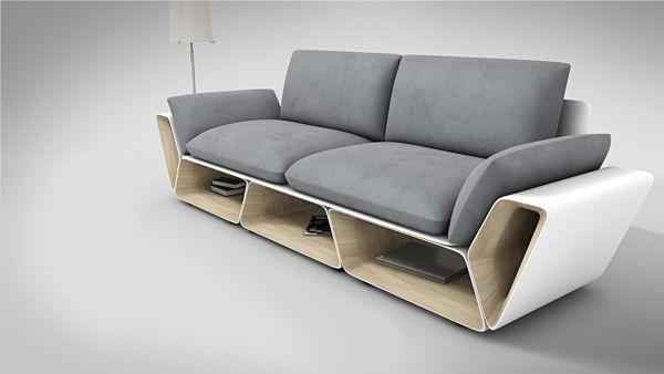 More Counter E While Showcasing A Creative Furniture Design Slot Sofa