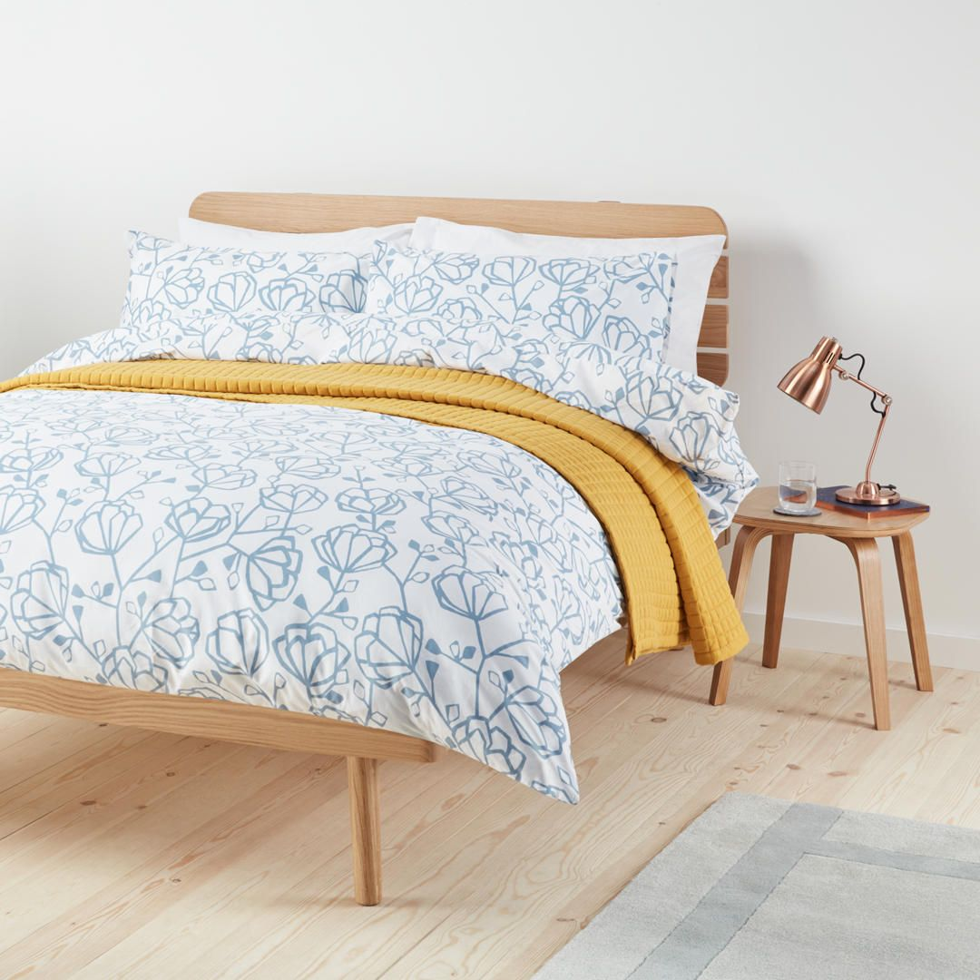 Buyjohn lewis heidi single duvet cover set blue online at johnlewis