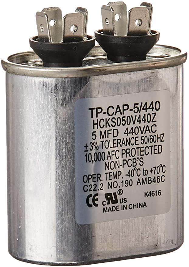 Carrier Tp Cap 5 440 Run Capacitor Home Improvement Hvac Capacitor Blower Motor Capacitor Parts And Accessories Hvac System
