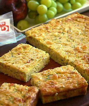 Zucchini Slice Julie Goodwin The Best Zucchini Slice Recipe I Ve