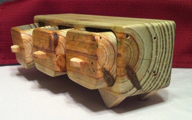 Pin by RGS Wood Designs on Bandsaw Boxes For Sale ...