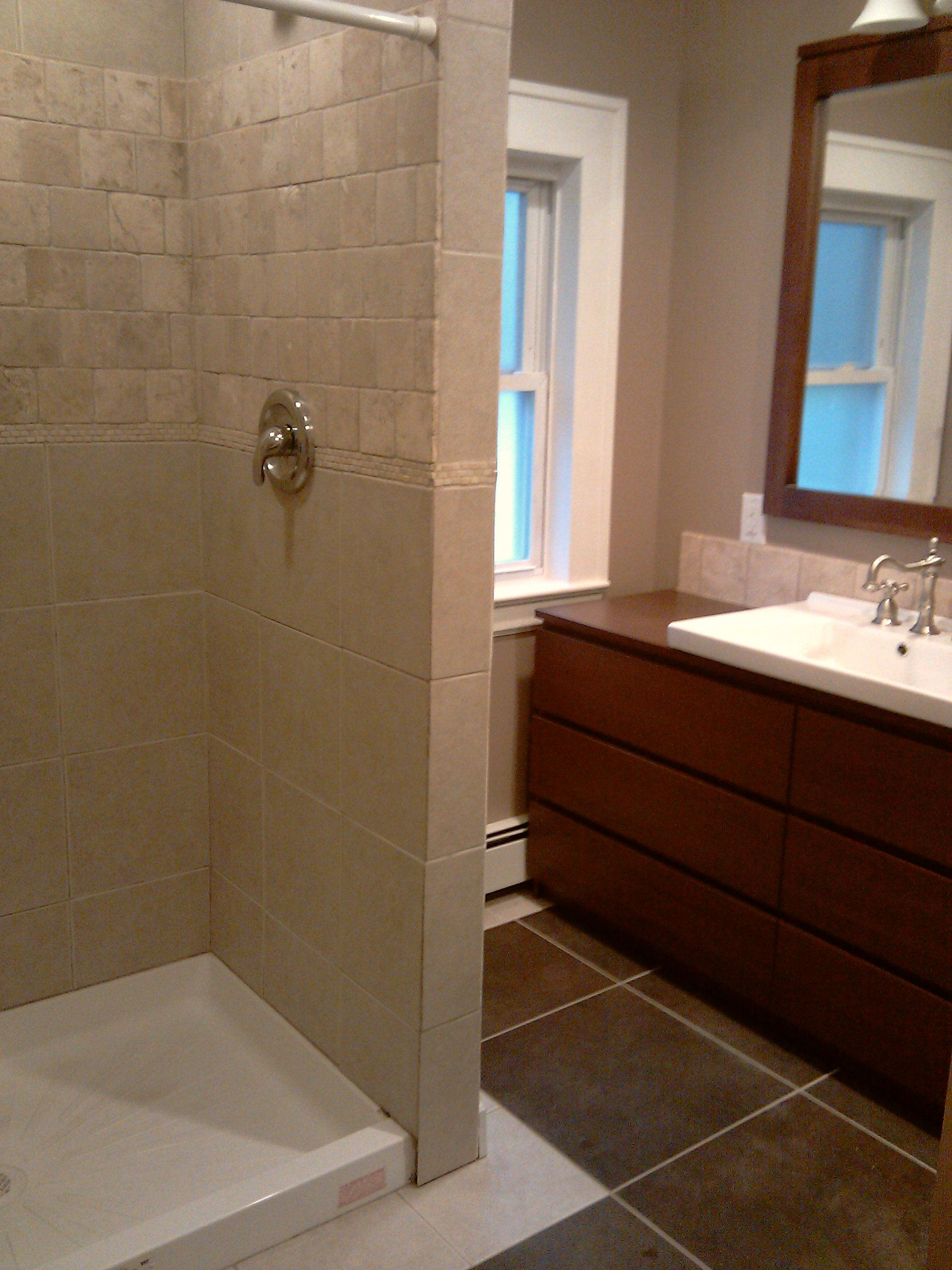 Remodeling Bathroom Stand Up Shower a stand up shower | diy | pinterest | bath, basements and dream