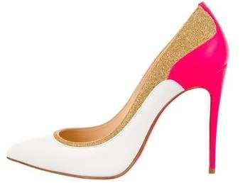 Christian Louboutin Suede Pointed-Toe Wedges w/ Tags outlet get to buy tumblr sale online outlet discount h4lhl5Yd7A