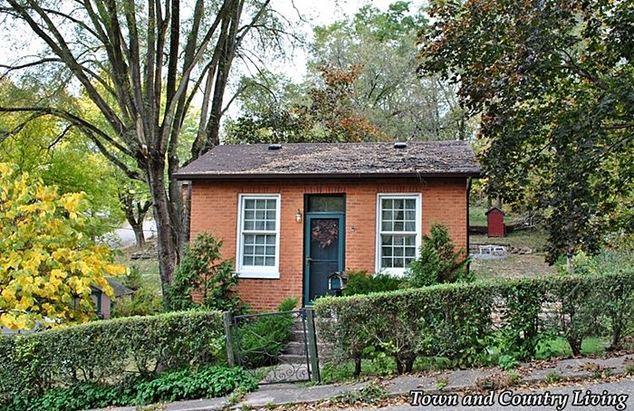 Tiny Houses Inside And Out Town Country Living Brick House Red Brick House Brick Cottage