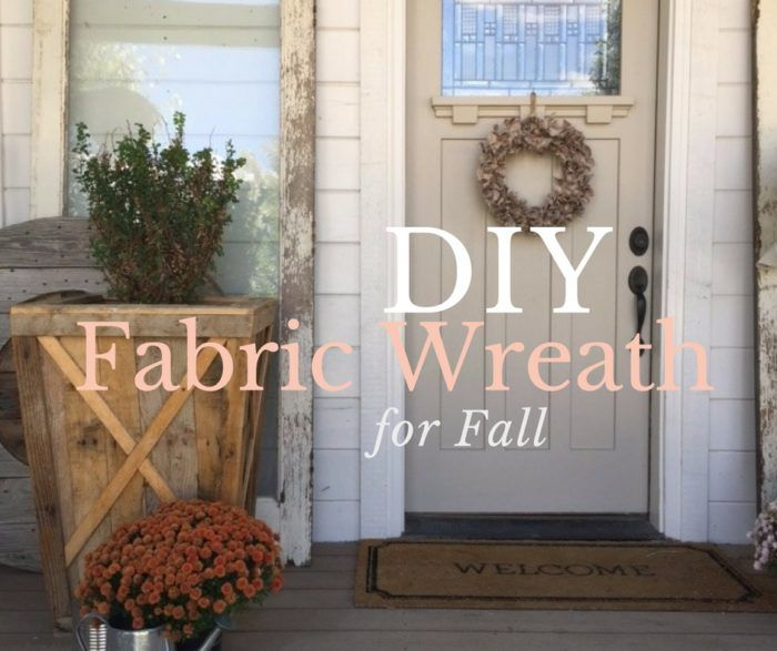 Photo of How to Make a DIY Fabric Wreath for Fall