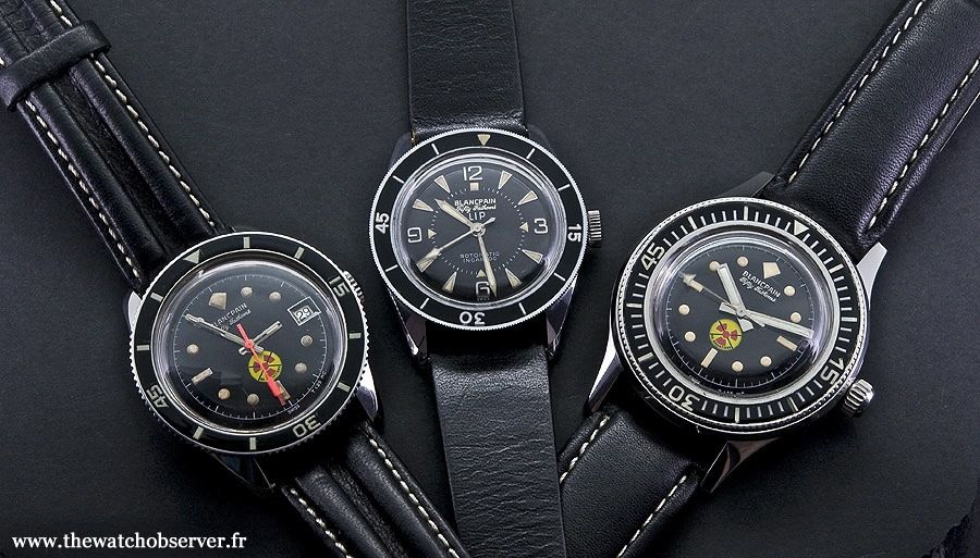 2248c75276c525 Lip Fifty Fathoms - The Watch Observer in 2018   Vintage Watches ...