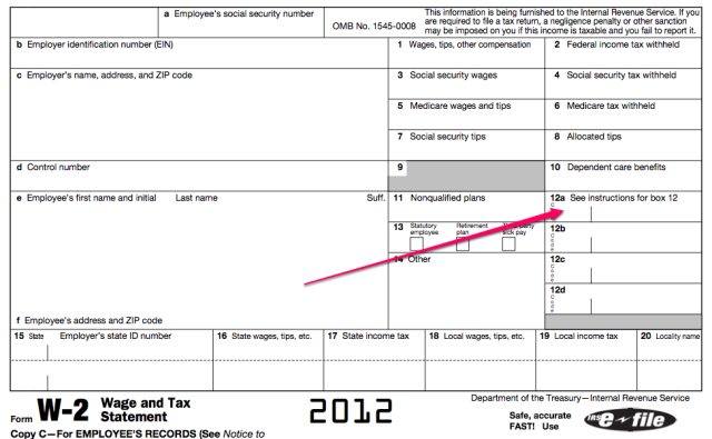 Irs W 2 Box 12 Obamacare Just Wait Until People Catch On To