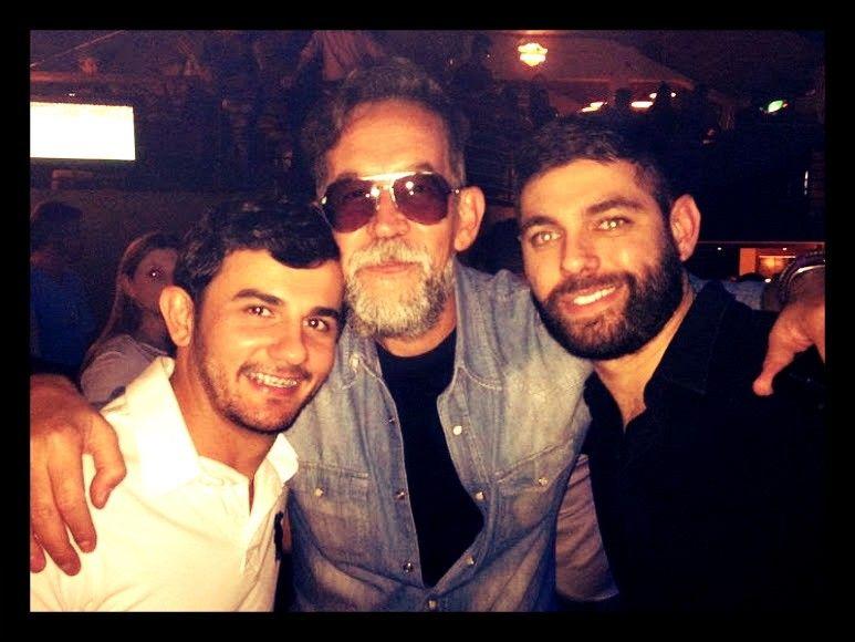Com Ed Nunes e Richard Guerreiro