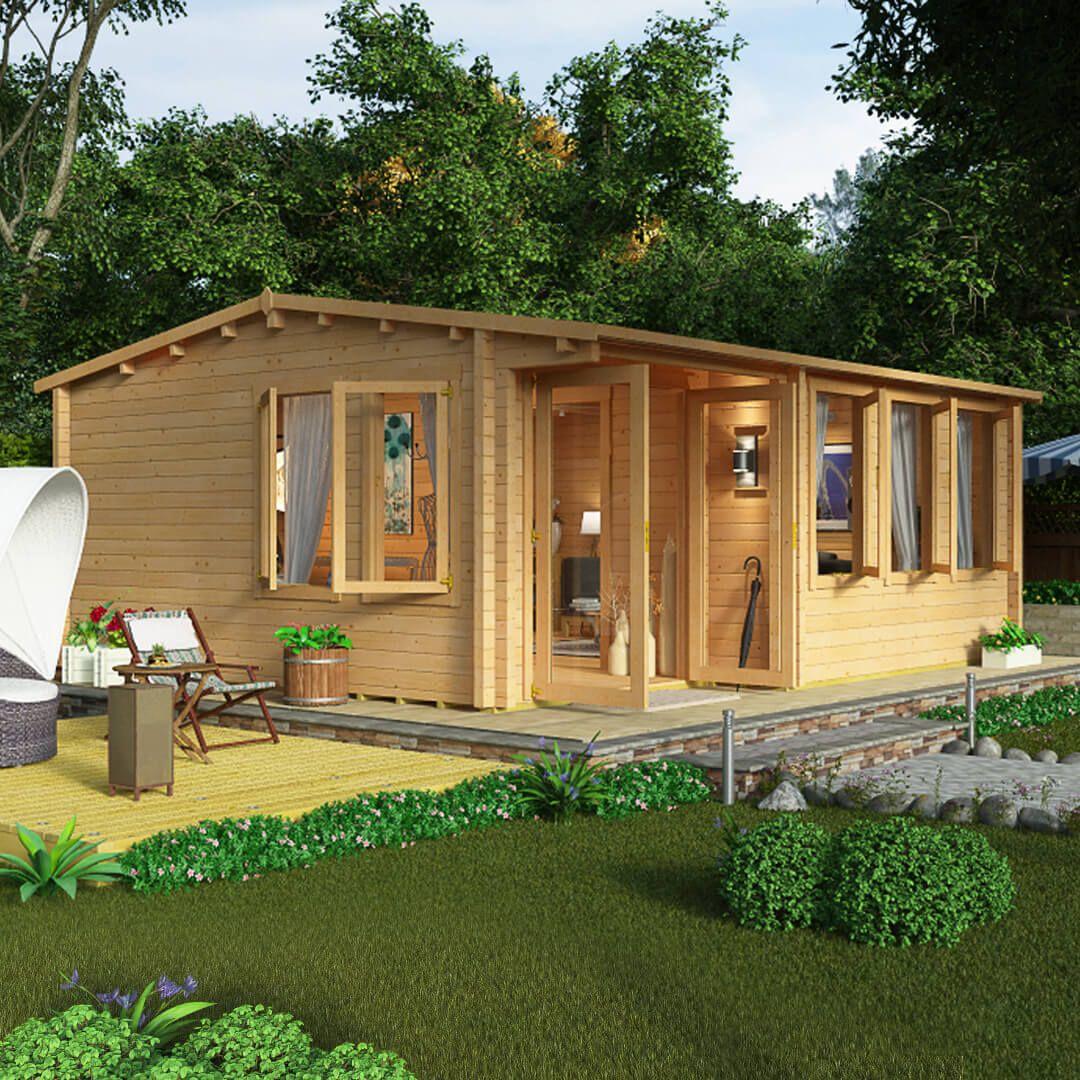 Garden Log Cabins, Garden