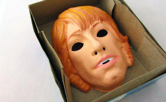 1977 Luke Skywalker Ben Cooper Mask and by nerdykidsvintage, $34.00