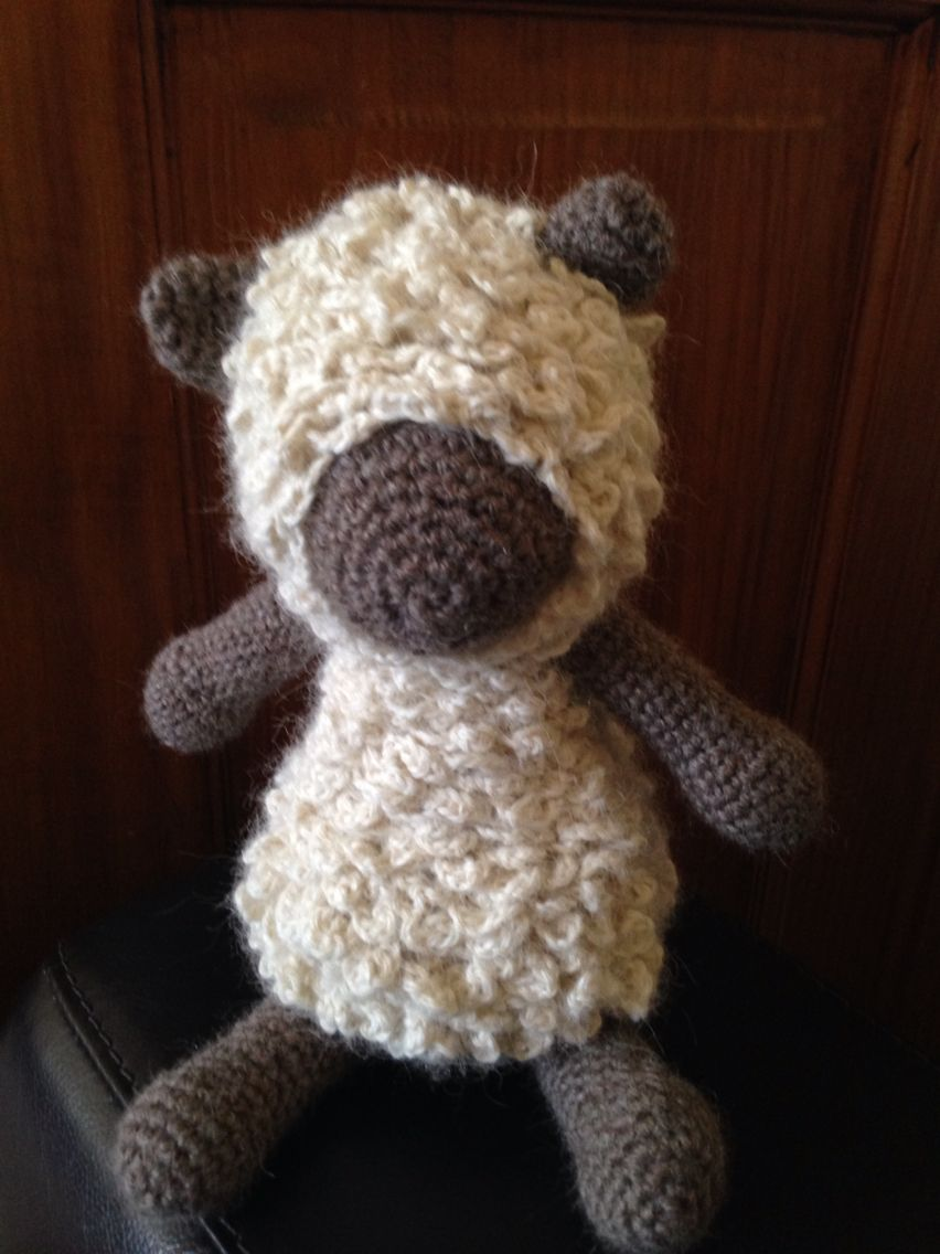Hank The Sheep Made Following The Pattern In Edward Menagerie Book