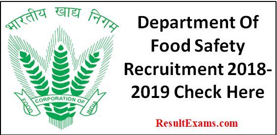 Department Of Food Safety Recruitment 2018 2019 Food Safety Officer Recruitment 2017 18 Fo Food Safety Occupational Health And Safety Safety Management System