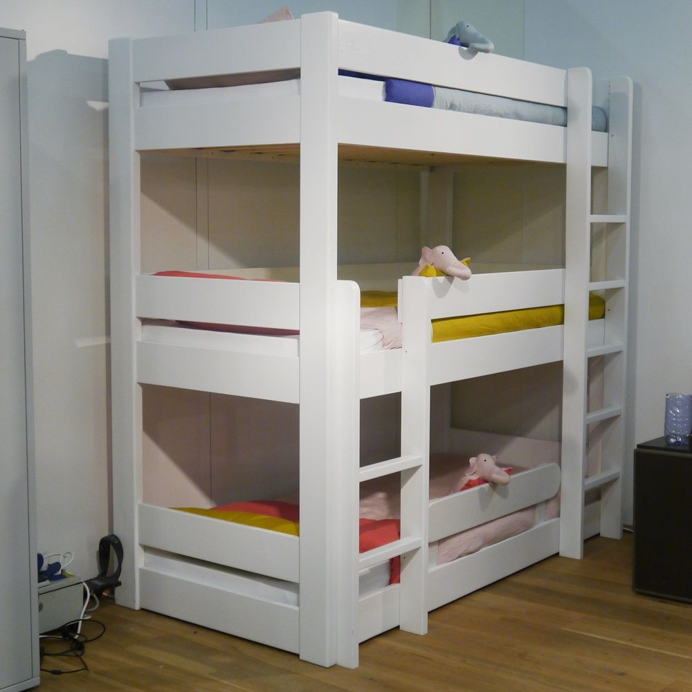 Pin By Neby On Bedroom Apartments Ideas Triple Bunk Beds Bunk