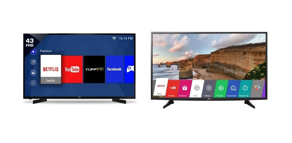 Top 5s 40 Inches And Above Smart Tvs Under Rs 30000 Smart Tv Digital Tv Screen Mirroring