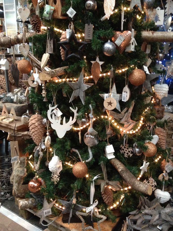 Kerstboom Ballen Intratuin Versierde Kerstbomen Kerst Landelijke Kerstbomen