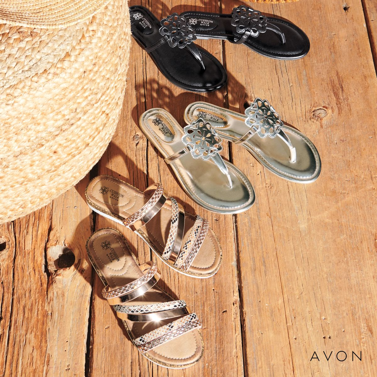 Looking for some new sandals? #Avon #sandals #summer #vacation