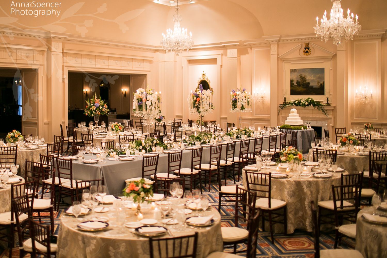 Atlanta Wedding Reception Venue Capital City Club Grand Ballroom In