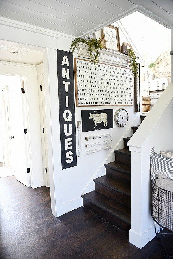 Farmhouse Style Staircase Gallery Wall Gallery Wall Love