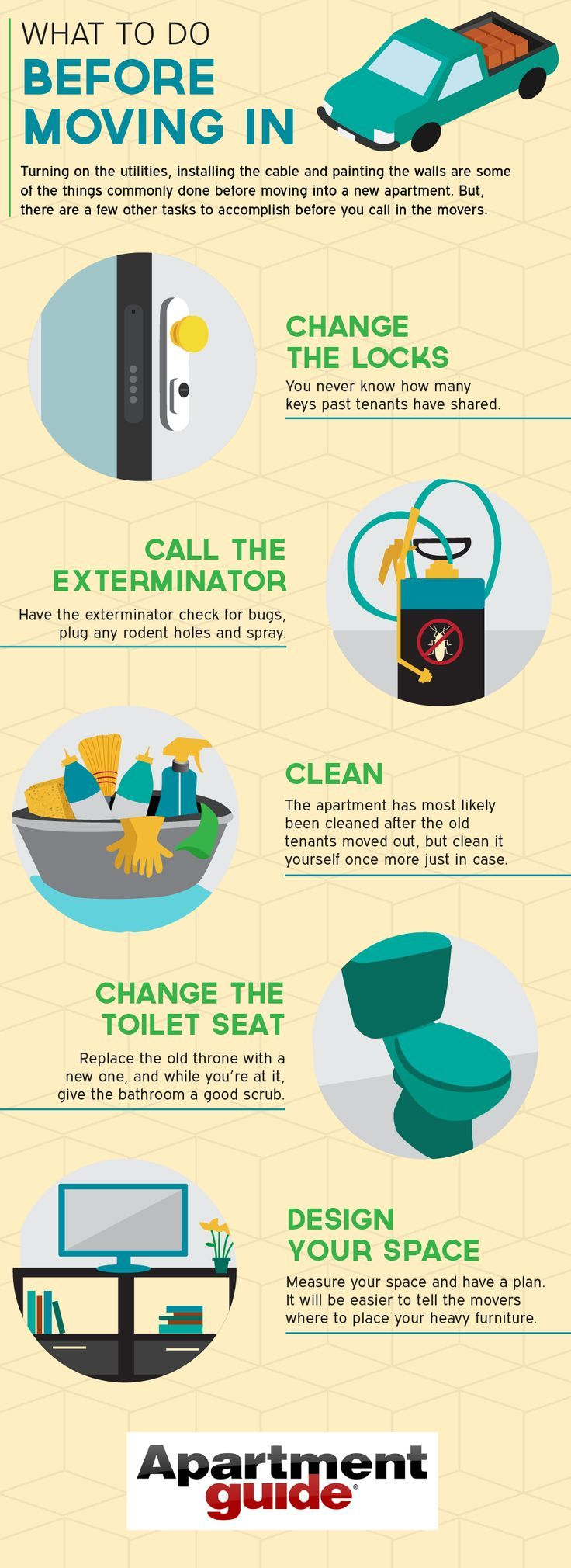 Tips to keep in mind when you move into your new apartment ...