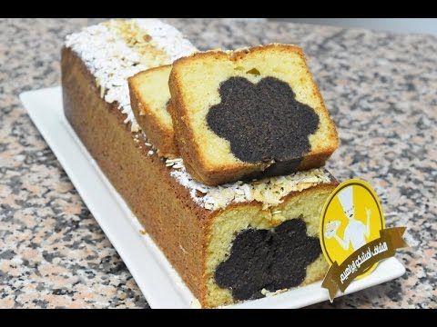 كيكة بشكل رائع وجديد و بنكهتي الشوكولاتة و الفانيلا ناجحة و لذيذة Youtube Bakery Food Cake