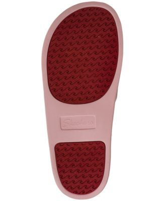 3eab3a8527ed Skechers Women s Bobs Pop-Ups - Cat Chat Bobs for Dogs Slide Sandals from  Finish Line - Pink 11