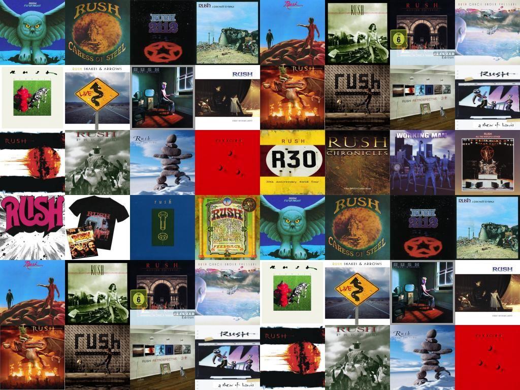 Rush Band Wallpaper