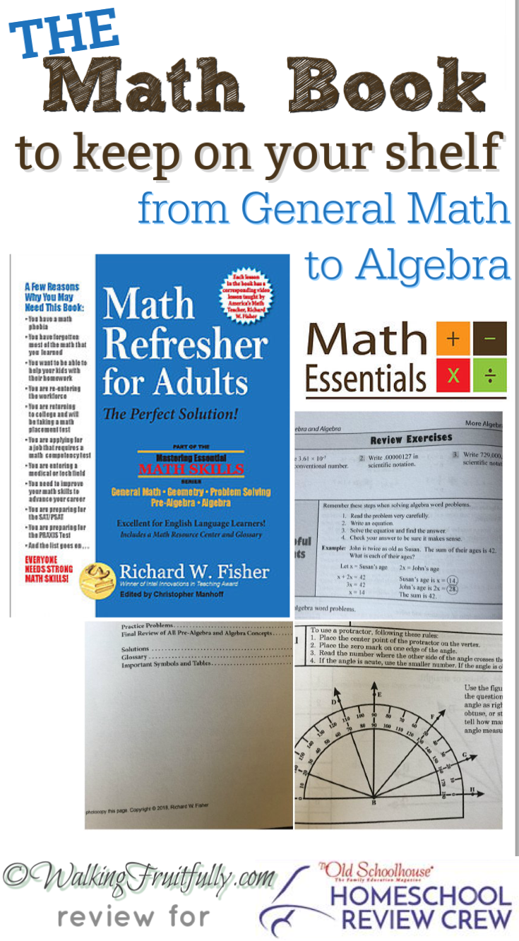 Math Refresher for Adults from Math Essentials ~ Homeschool Crew ...