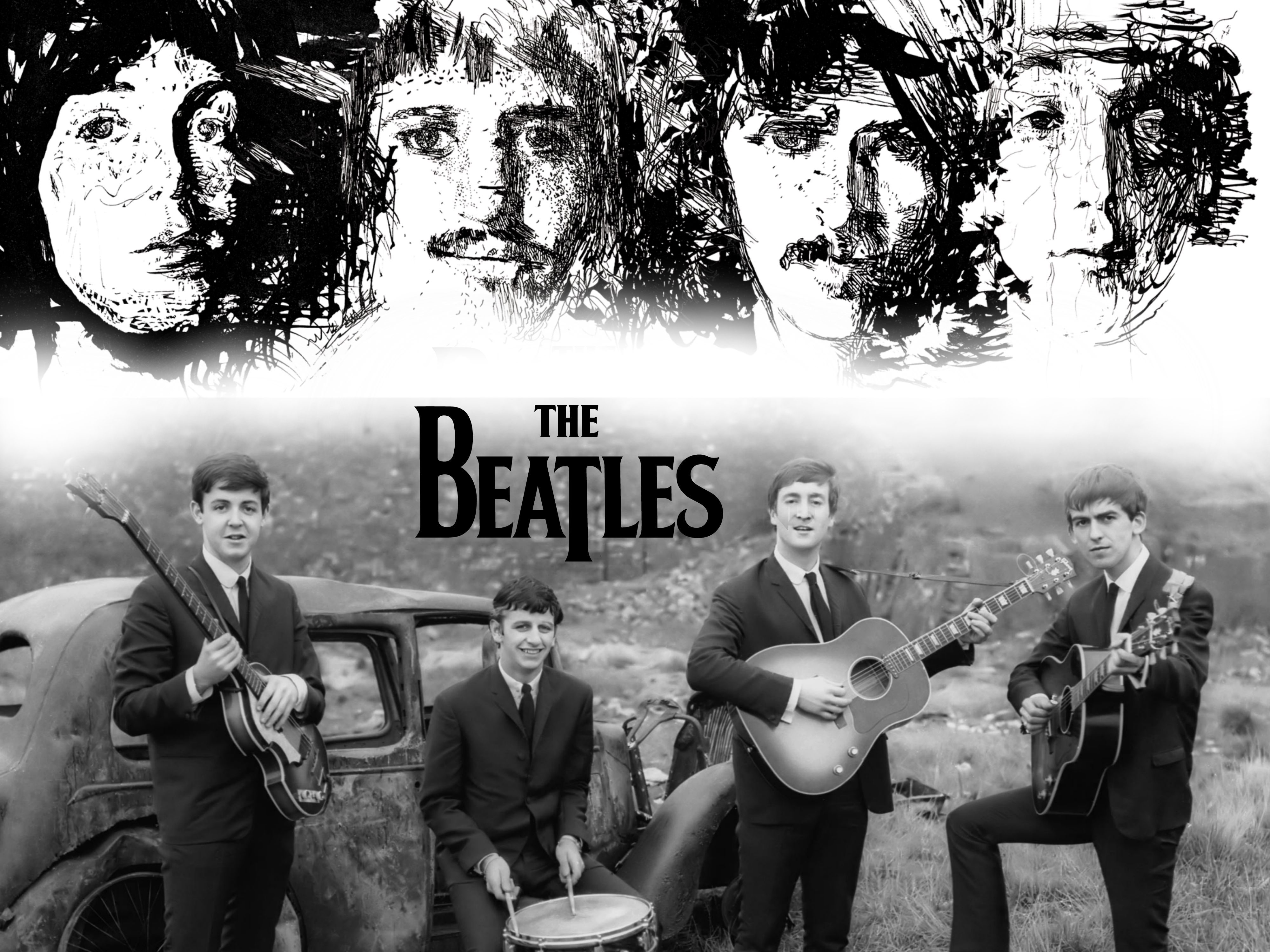 The Beatles Wallpaper/Background 4000 x 3000 id 373979