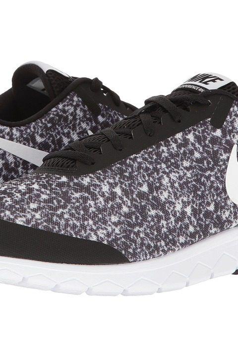 Nike Flex Experience  Rn 6 Premium Blanco  Experience Negro Zapatos Corrientes De Los Hombres e5a57a
