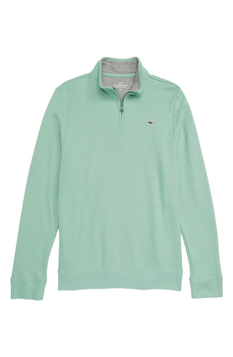 f38cedc232 Free shipping and returns on vineyard vines Quarter Zip Sweater (Toddler  Boys   Little Boys) at Nordstrom.com. Signature whale embroidery at the  chest adds ...