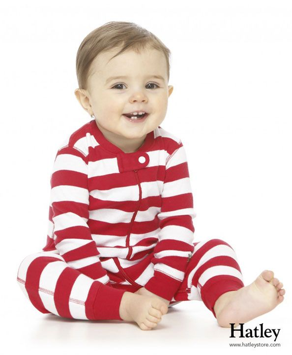 Hatley Candy Cane Zip Up Coverall Baby Christmas Coverall Newborn Holiday Clothing Candy Cane Stripes Baby Pajamas Christmas Pjs